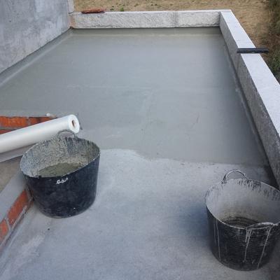 Impermeabilización de terraza antes de solado