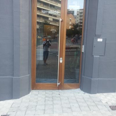 fachada de portal