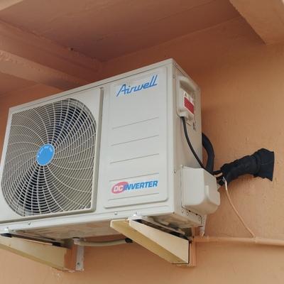 Instalación aire acondicionado AIRWELL