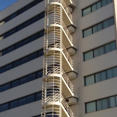 Escalera contra incendios
