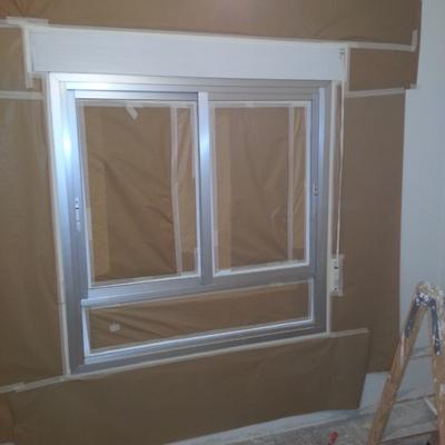 cambio de color a ventanas de aluminio