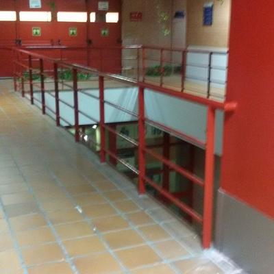 Interior en pasillos