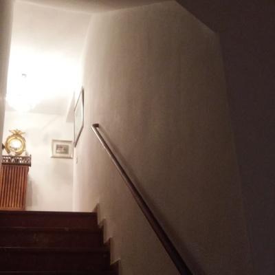 escalera color blanco