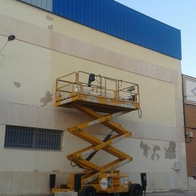 Pintura en naves industriales