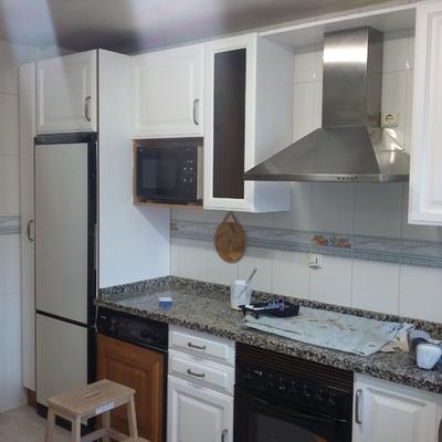 Lacado puertas de cocina