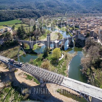 Puente de la C-66 en Besalú