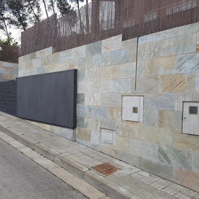 Presupuesto azulejos piedra online habitissimo - Azulejos para exterior ...