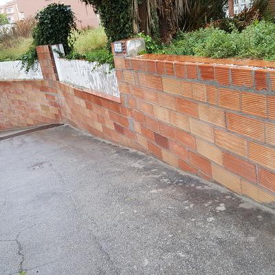 construccion de paredes y muros