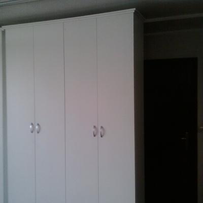 armario empotrado cerradolacado en blanco