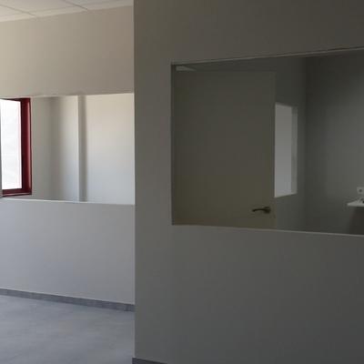 Estructura de pladur para oficinas