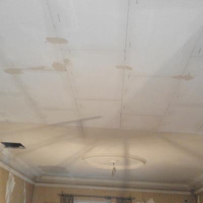 Reforma de un techo de placa de escayola
