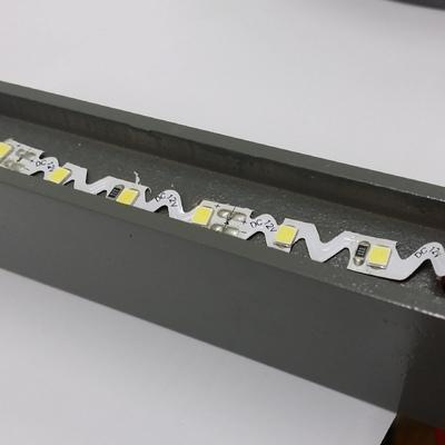 Letras de pvc fresadas con iluminación led i frontal de metacrilato.