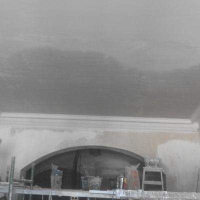 Reforma de un techo de placas de escayola