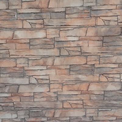 Muro estampado tres colores