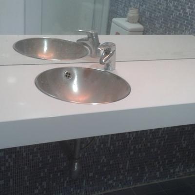 Modificacion parcial en baño