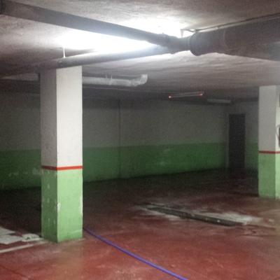 Pintado de garaje a pistola en Malaga.