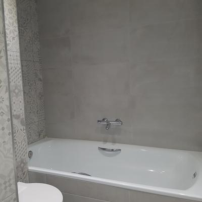 Baño también con bañera