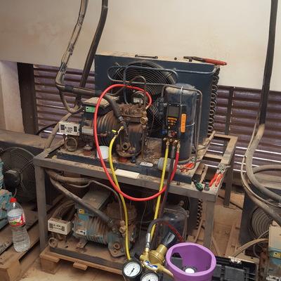 Reparación maquinaria cuarto frio