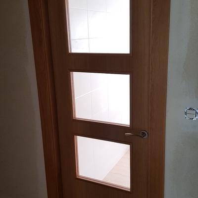 puerta cocina cristalera