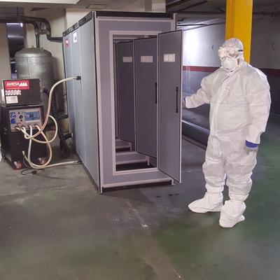 Desmontaje retirada uralita fibrocemento amianto bajantes