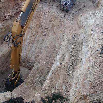 Excavación de inca
