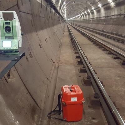 Poligonal en túnel de metro, Línea 8 Madrid