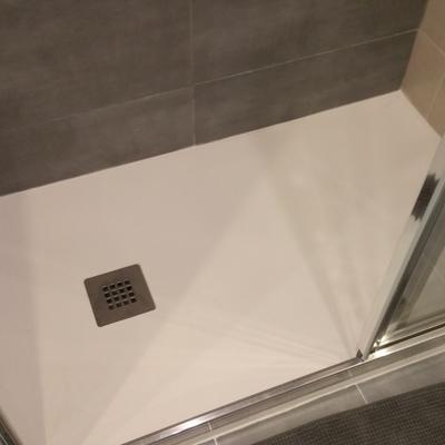 Reforma baño plato
