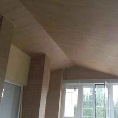 Instalacion de techo decorativo
