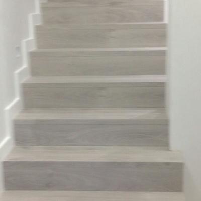 Instalacion de escaleras