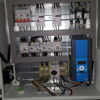 Cuadro de control 2 bombas de presión
