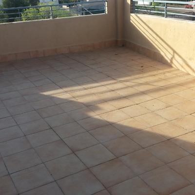 Terraza original con filtrciones
