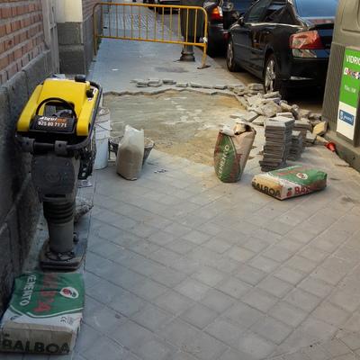 Arreglo hundimiento suelo