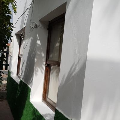 Trabajos de pintura exterior
