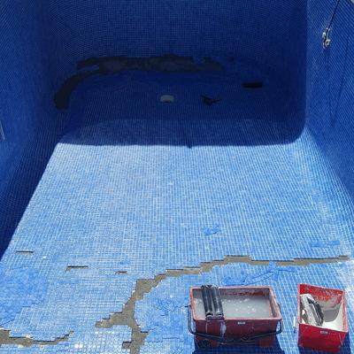 Reparacion grieta piscina