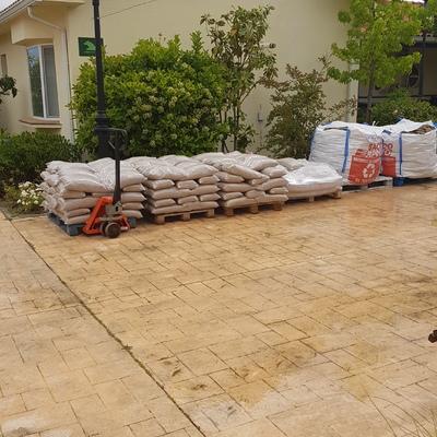 Pavimento continuo impermeable de PVC
