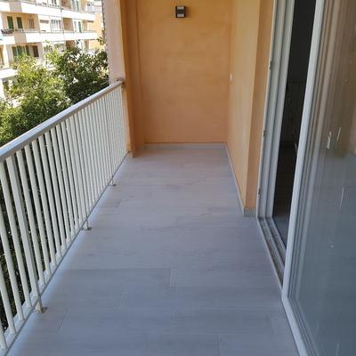 Reforma de balcón