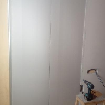 Revestiniento de pared con pladur.