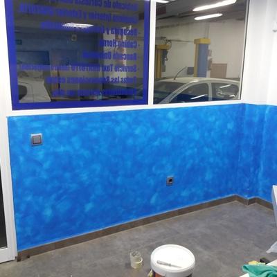 pintado de oficina
