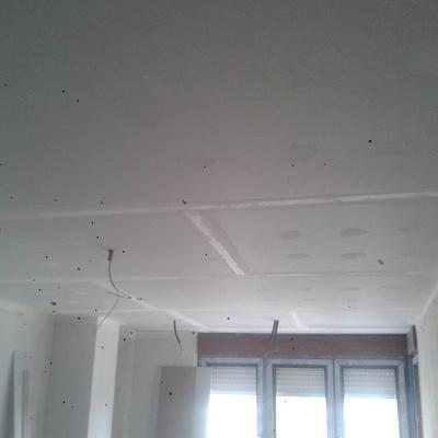 Colocacion de techo de pladur