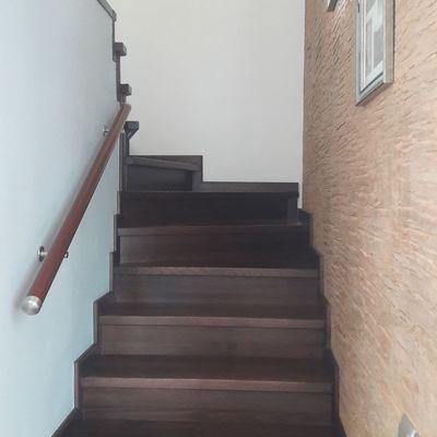 efecto final de la construcción de la escalera