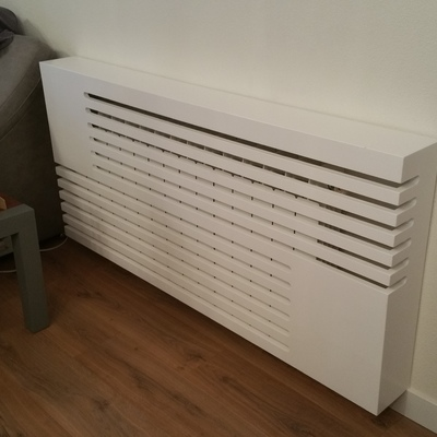 cubre radiador de diseño