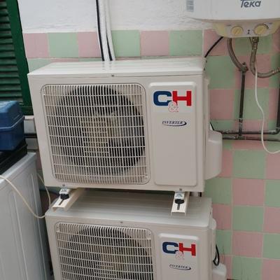 Instalación 2 máquinas COOPER&HUNTER