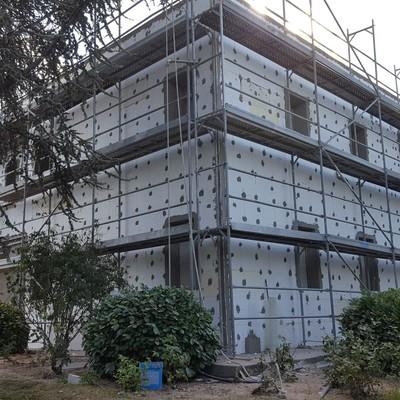 Rehabilitación fachada SATE