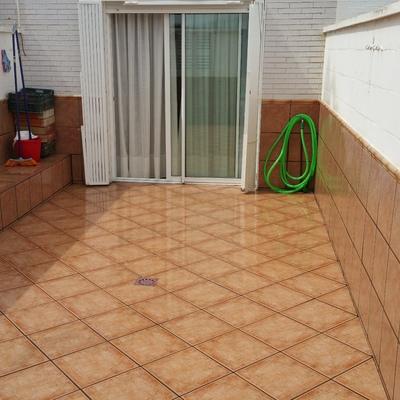Cambio de soleria en terraza y foración de pendientes nuevas
