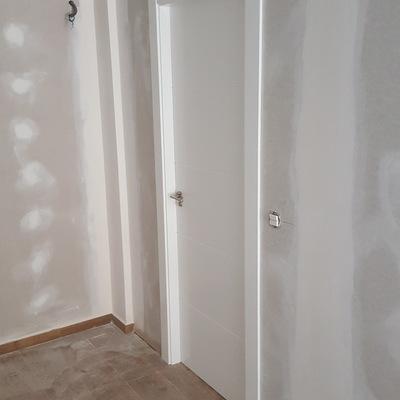 puerta habitación lacada blanco