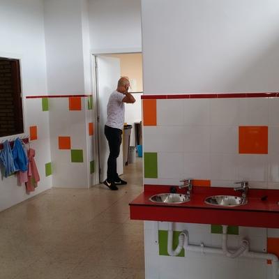 Baño colegio
