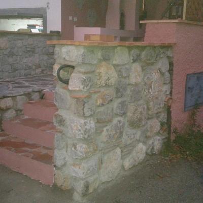Muro en piedra