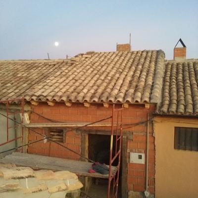 Reconstruccion de tejado