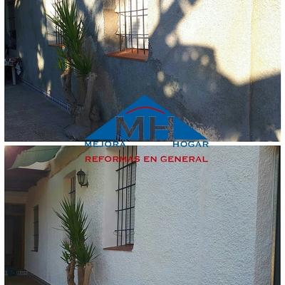 Reparación y renovación de patio.