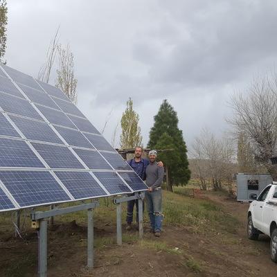 Instalacion 4500Wp Escuela Rural - Argentina